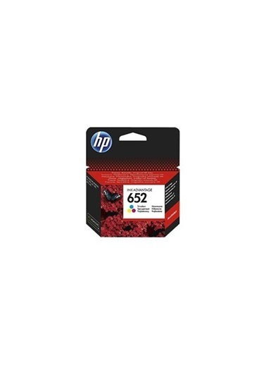 HP F6V24A Ink Cartridge (652) Renkli